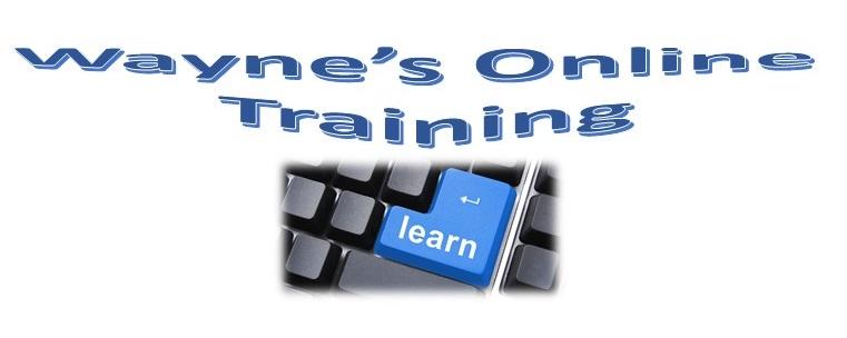 Wayne's Online Training Site